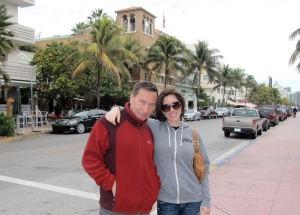 Dad and I in Miami