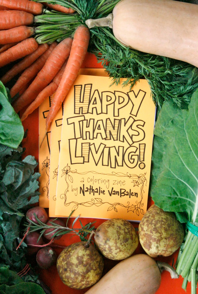 A Review Of Happy Thanks Living Coloring Zine 171 The
